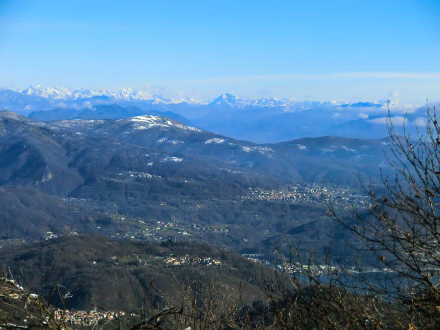 panorama dal Monte Marca