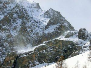 Corso Neve e Valanghe, vento in quota