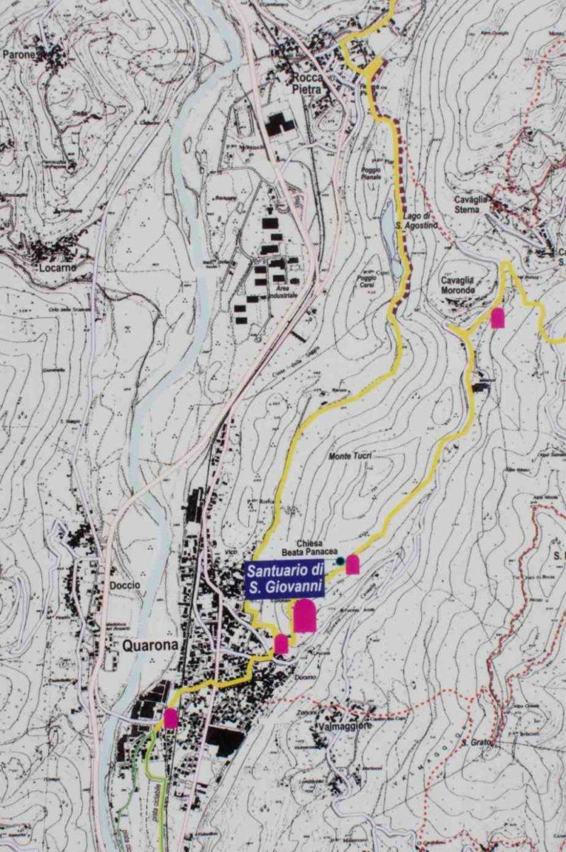 Cartina escursione