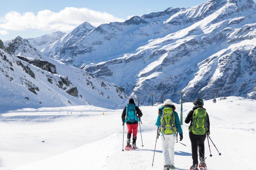 Ciaspole monte rosa guide gite escursioni