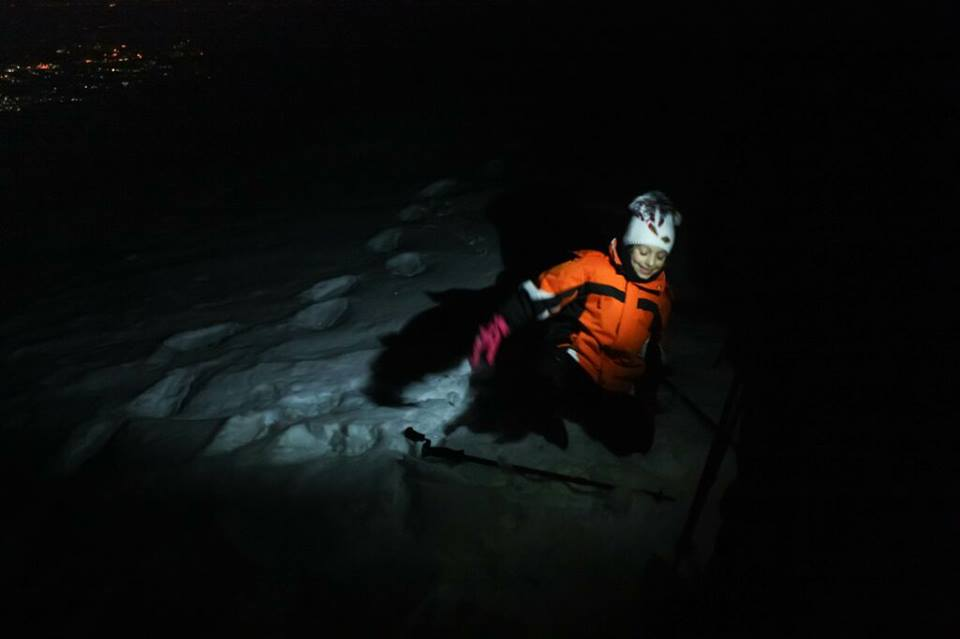 ciaspolata notturana monte Marca 003