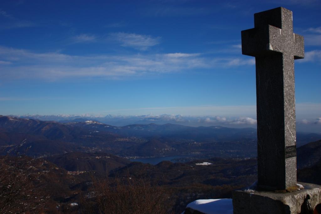 cima del monte Briasco